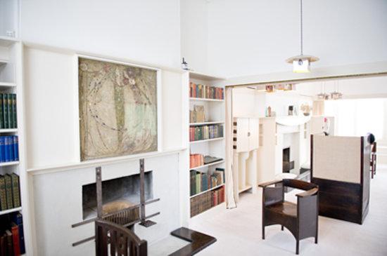 Interior de la Casa de Mackintosh