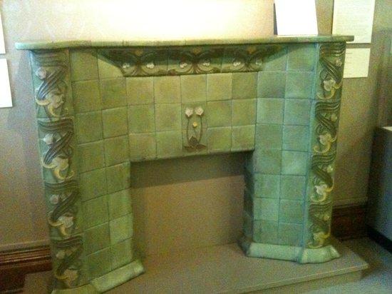 pioneer museum van briggle tiles