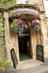Historic Front Door - Picture of The Old Hall Hotel ...