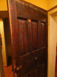 Heavy, wooden main door to suite. - Picture of Hotel ...