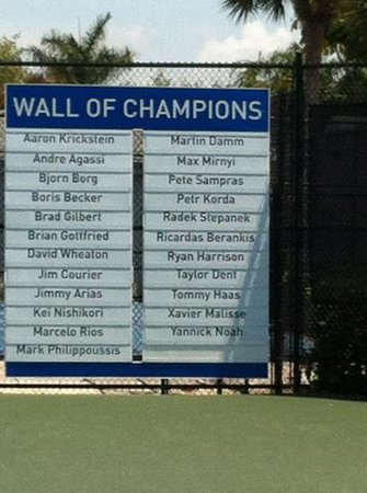 wall of champions  Picture of IMG Academy Bradenton  TripAdvisor