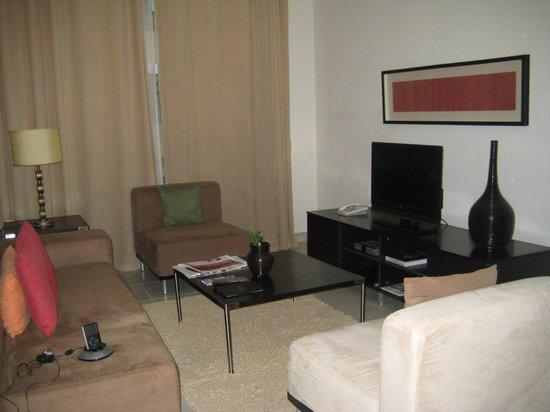Lounge Picture Of Midan Hotel Suites Muscat Tripadvisor