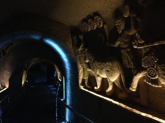 Cappadocia Cave Resort & Spa: tunnel di accesso alla SPA