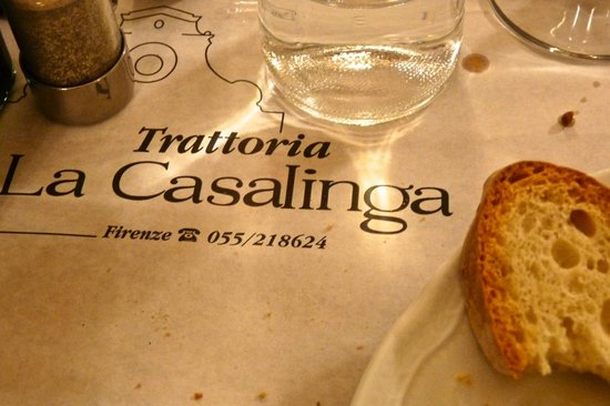 bar  kitchen  Picture of Trattoria La Casalinga Florence  TripAdvisor