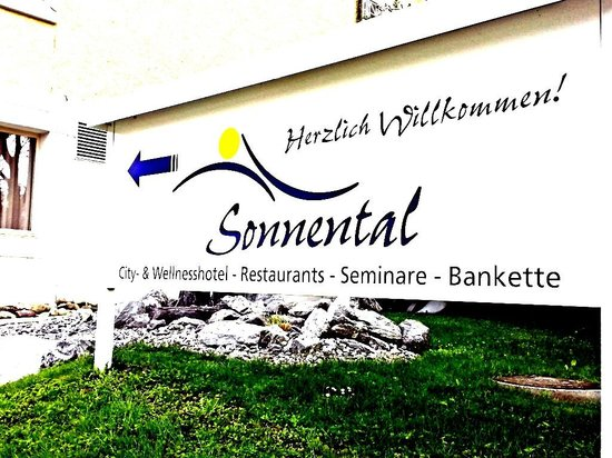 Hotel Sign Picture Of Sorell Hotel Sonnental Dubendorf