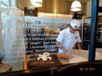 decor by bakery display window - Picture of BOUDIN ...