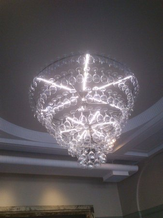 Made From Wine Glasses All Bar One Brighton Quirky Clever Chandelier
