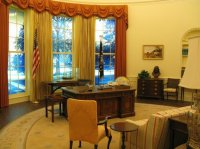 Recreation of Carter Oval Office - Picture of Jimmy Carter ...