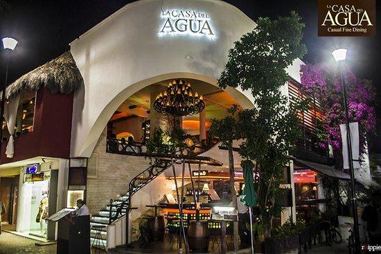 La Casa del Agua Playa del Carmen  Restaurant Reviews
