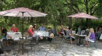 Creekside patio - Picture of Rising Star Winery, Salado ...