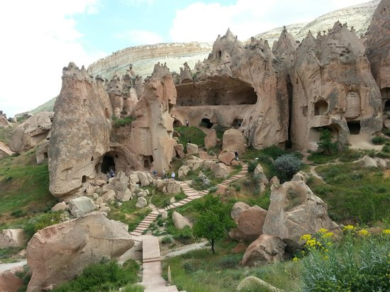 ancient cave dwellings Picture of Cappadocia Cave