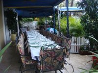 Festive Party on The Patio - Picture of Patio Delray ...