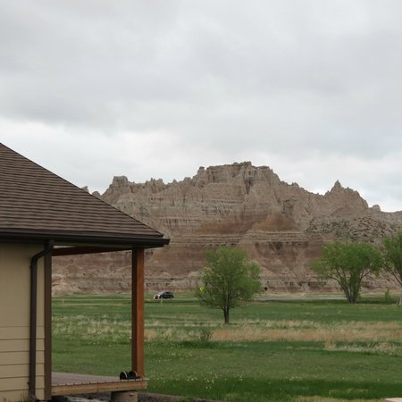 Exterior Of Cabin Picture Of Cedar Pass Lodge Badlands
