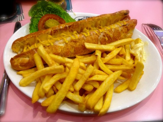 style typique anne 5O  Picture of HD Diner Biarritz  TripAdvisor