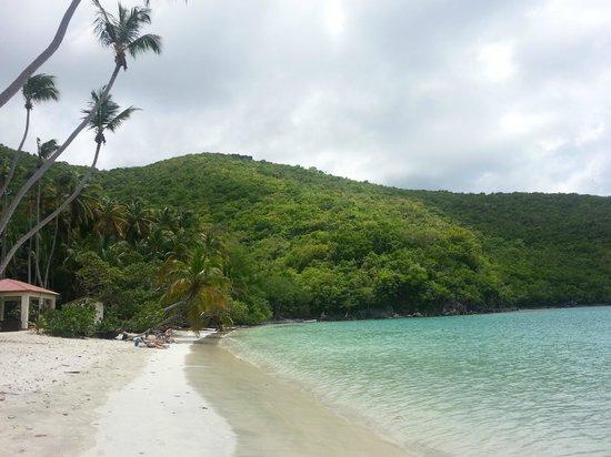 maho beach cruz bay