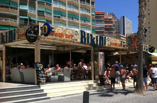 Bikini Beach Bar  Benidorm  Restaurant Reviews Phone