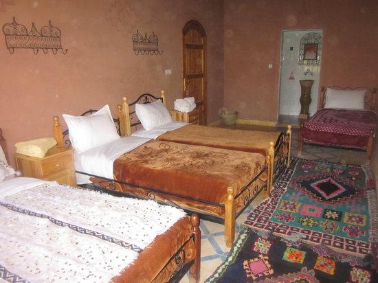 Chambre quadruple  Picture of Hotel Awayou Ouarzazate  TripAdvisor