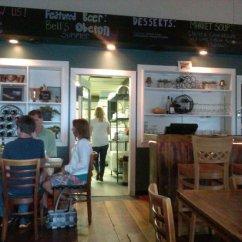 Restaurant Kitchen Door Quiet Hood And Bar Area Picture Of Gathering Cafe