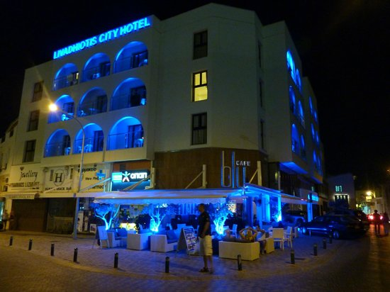 Hotel By Night Picture Of Livadhiotis City Hotel Larnaca