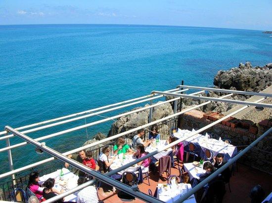 Terrazza sul mare  Picture of Lo Scoglio Ubriaco Cefalu  TripAdvisor