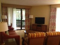 Living Room - Picture of Marriott's Sabal Palms, Orlando ...
