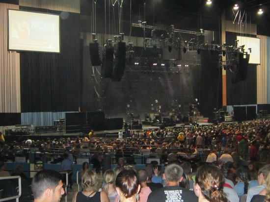 Main Stage at Comcast from section 700  Picture of
