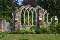 Gothic ruins - Picture of Capel Manor Gardens, Enfield ...