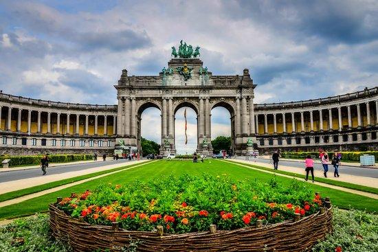 La puerta de Brandenburgo de Bruselas - Opiniones de viajeros ...