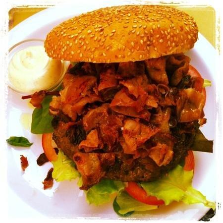 Fassona burger  Picture of Casa Nani Brescia  TripAdvisor