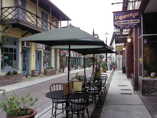 La Herencia Cafe, Saint Augustine