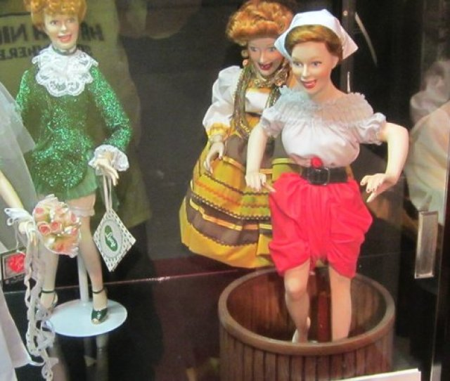 Lucille Ball Desi Arnaz Museum Lucy Doll Crushing Grapes
