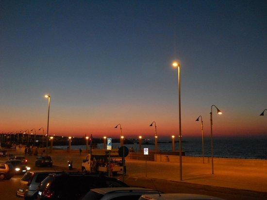 Il tramonto dalla terrazza a cena  Photo de Hotel Ristorante da Romano San Foca  TripAdvisor