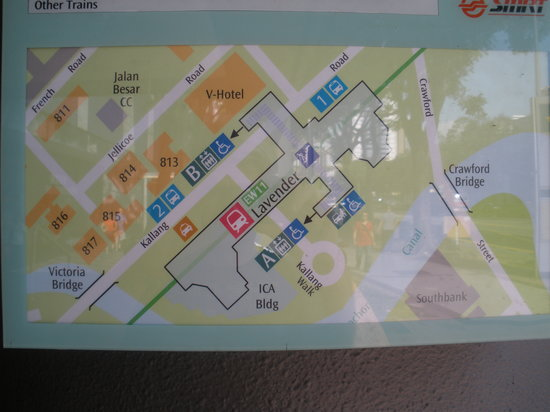 Mrt Location Map Picture Of V Hotel Lavender Singapore