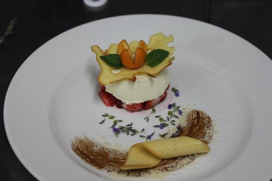Dessert Decoration Picture Of La Locanda George Tripadvisor
