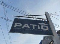Restaurant Schild - Picture of Patio American Grill ...
