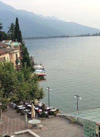 La terrazza sul lago  Picture of Ristorante Pizzeria Monello Campione dItalia  TripAdvisor