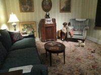 1940s living room - Picture of Wright Museum of WWII ...