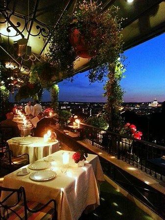 terrazza di sera  Foto di Mirabelle Roma  TripAdvisor