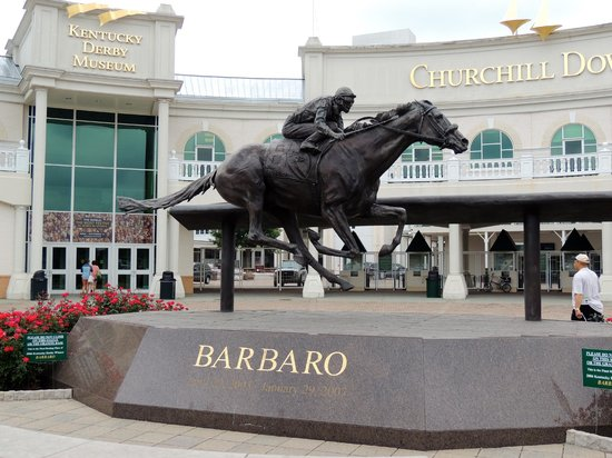 Entrance to Churchill Downs and Kentucky Derby Museum