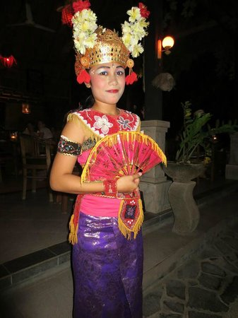 bali dancer picture of
