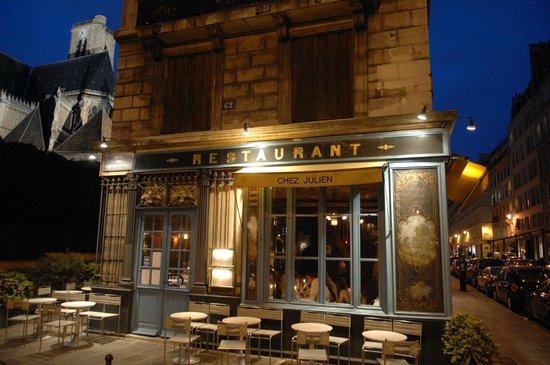 Chez Julien Paris 1 Rue Du Pont Louis Philippe Saint