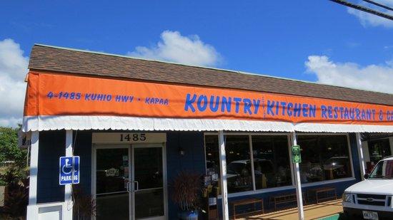 Outside Kountry Kitchen  Picture of Kountry Kitchen