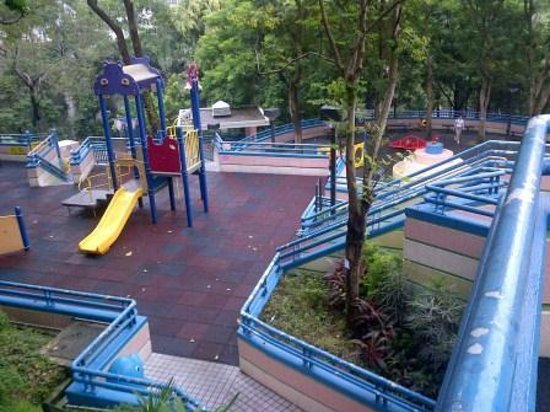 Playground At Hong Kong Park Near Hotel Picture Of Jw