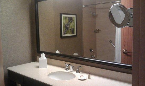 Nice big mirror in the bathroom  Picture of Sheraton