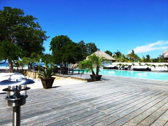 Foto de Punta Rucia Lodge Punta Rucia piscina hotel