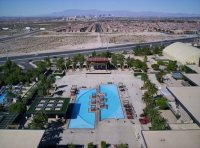 Pool at M hotel - Picture of M Resort Spa Casino ...