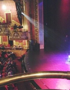 The elgin  winter garden theatre centre view from box  seat also picture of rh tripadvisor