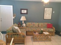 #15 living room - Picture of River Palms Cottages and Fish ...