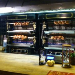 Bbq Kitchen High End Cabinets Picture Of Berlin Tripadvisor Roasting Ducks And Chickens