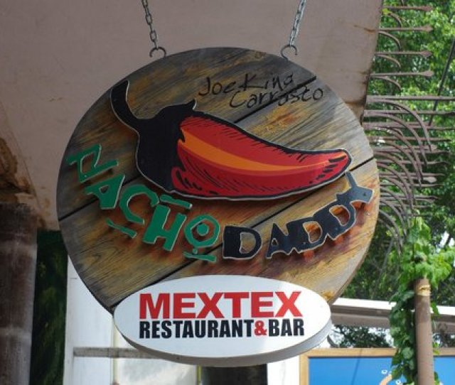 New Nacho Daddy Sign Is Hung